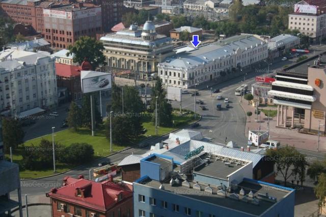 Address(es) on photo: Malisheva street, 47А, 64, 68, 74, Yekaterinburg