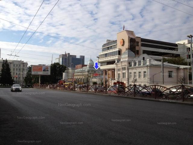 Address(es) on photo: Malisheva street, 68, 74, Yekaterinburg