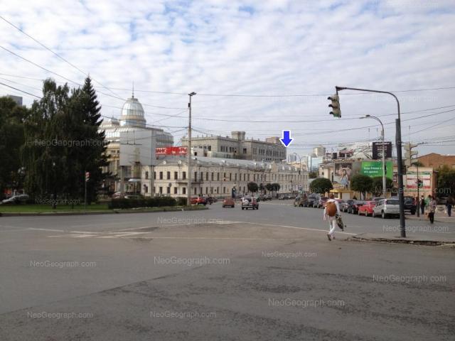 Address(es) on photo: Malisheva street, 43, 68, 68а, Yekaterinburg