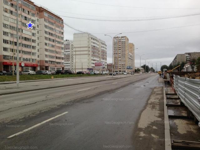 Адрес(а) на фотографии: улица Бакинских Комиссаров, 107, 109, 113, Екатеринбург