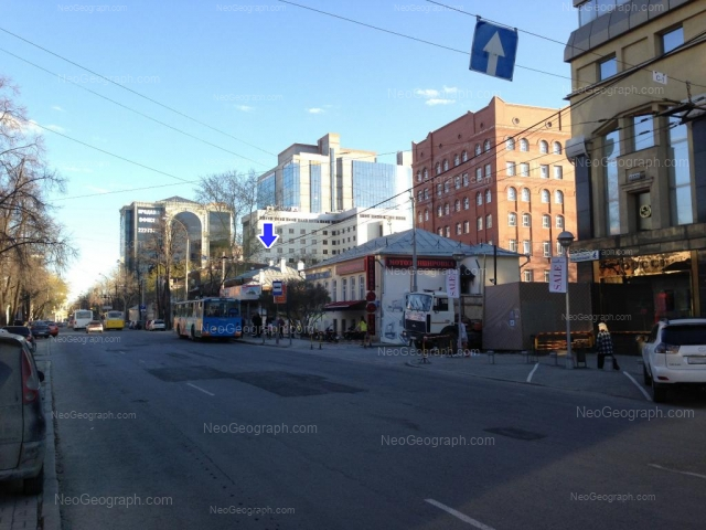 Адрес(а) на фотографии: улица Розы Люксембург, 4, 8/10, 14, Екатеринбург