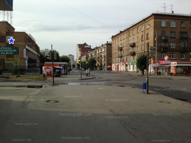 Адрес(а) на фотографии: Заводская улица, 27, 34/1, 36, Екатеринбург