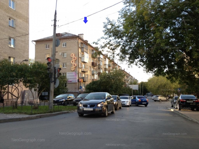 Address(es) on photo: Sheikmana street, 30, 32, 34, Yekaterinburg