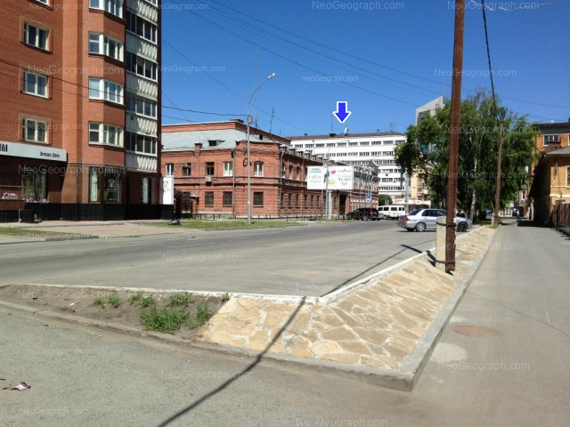 Адрес(а) на фотографии: улица Малышева, 21/1, 22, Екатеринбург