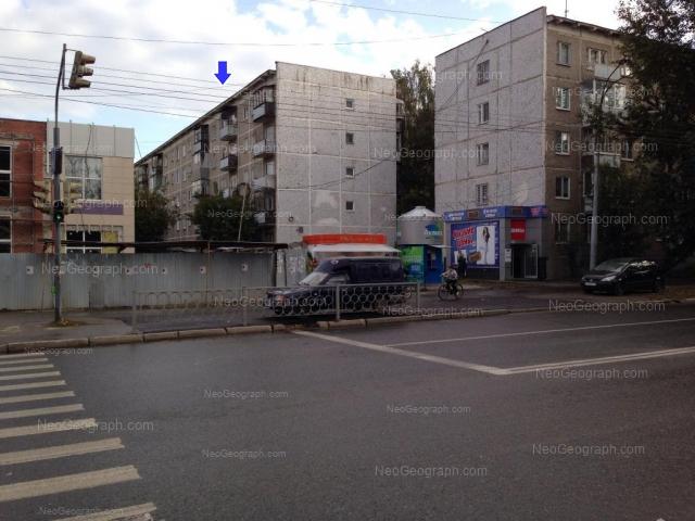 Адрес(а) на фотографии: улица Крауля, 76, 78, Екатеринбург