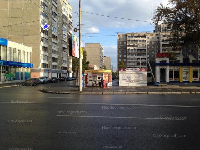 Адрес(а) на фотографии: улица Викулова, 32, 38, 38А, Екатеринбург