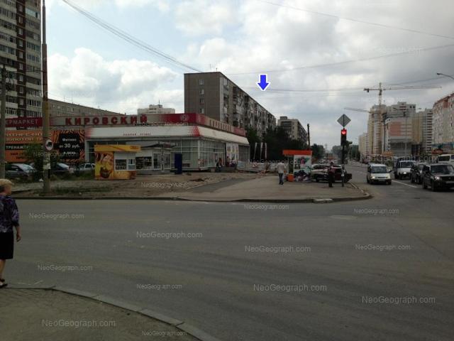 Адрес(а) на фотографии: улица Бакинских Комиссаров, 64, 68, Екатеринбург