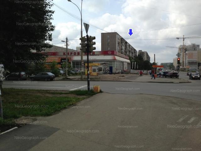 Адрес(а) на фотографии: улица Бакинских Комиссаров, 58, 64, 68, Екатеринбург