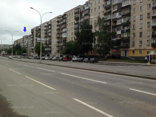 Адрес(а) на фотографии: улица Бакинских Комиссаров, 58, 64, Екатеринбург