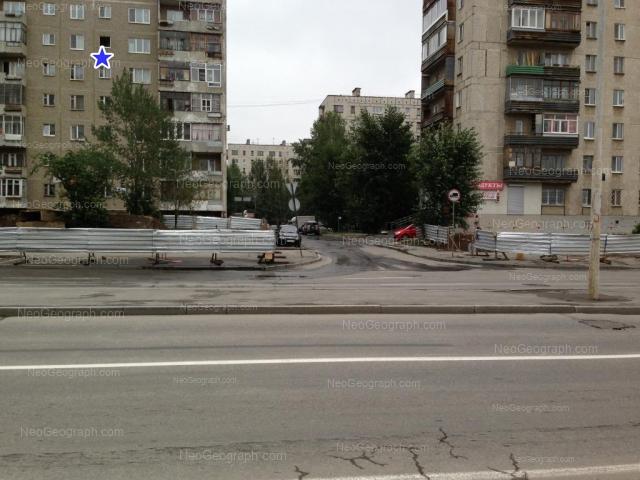 Адрес(а) на фотографии: улица Бакинских Комиссаров, 58, 60, 61, 64, Екатеринбург