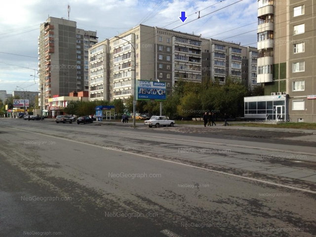 Адрес(а) на фотографии: улица Викулова, 38А, 38Б, Екатеринбург