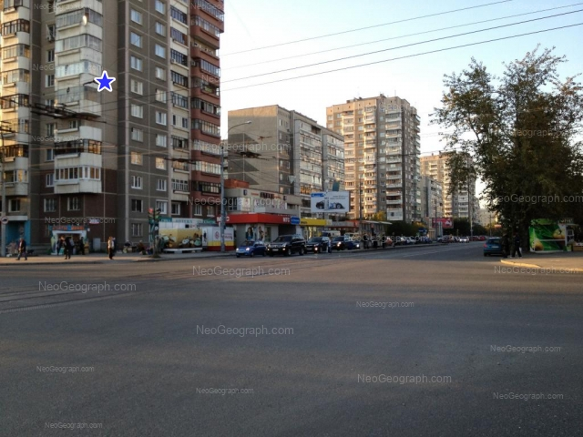Адрес(а) на фотографии: улица Викулова, 28Б, 32А, 32Б, 38А, 38Б, 38В, Екатеринбург
