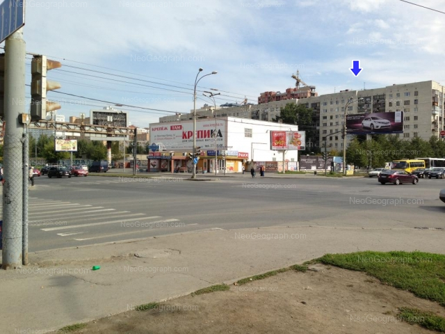Адрес(а) на фотографии: улица Крауля, 10, 10г, Екатеринбург
