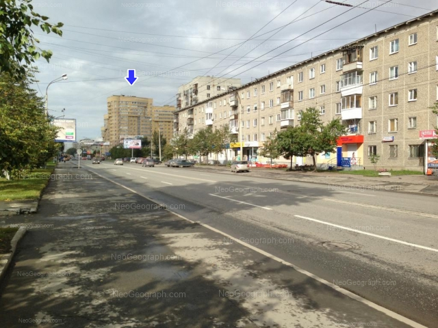 Адрес(а) на фотографии: улица Крауля, 8, 44, Екатеринбург