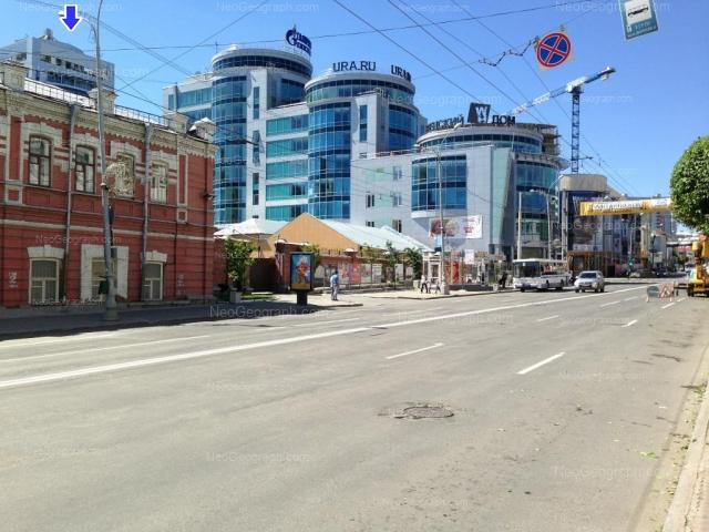 Адрес(а) на фотографии: улица Сакко и Ванцетти, 61, 67, Екатеринбург