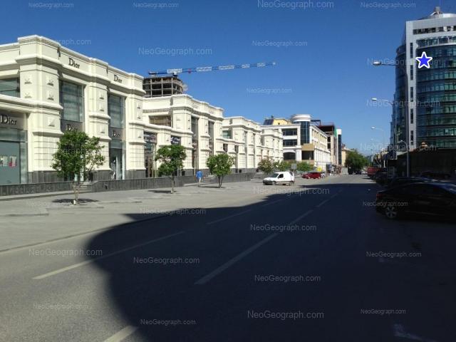 Адрес(а) на фотографии: улица Сакко и Ванцетти, 67, 69, 70, 74, Екатеринбург