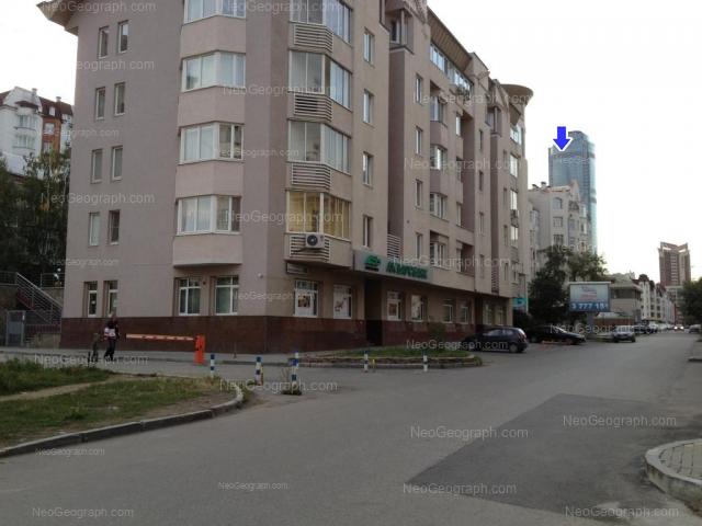 Адрес(а) на фотографии: Красноармейская улица, 62, 64, 66, 68, Екатеринбург