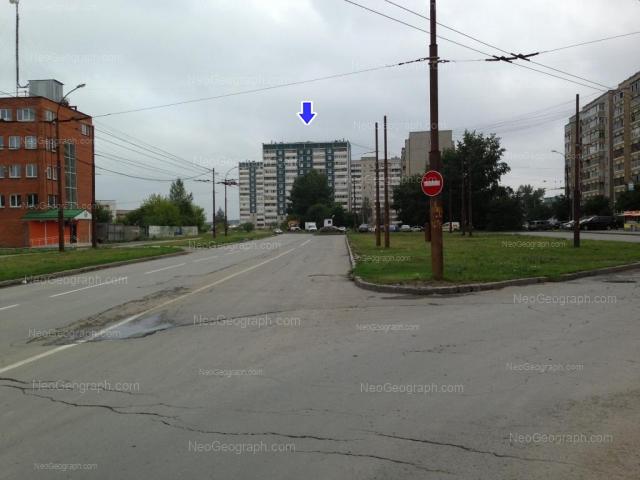 Address(es) on photo: Frezerovschikov street, 82, Yekaterinburg