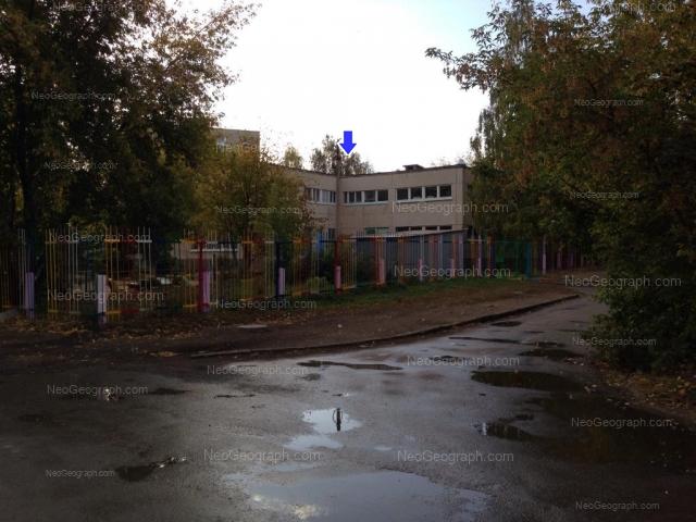 На фото видно здание с адресом улица Крауля, 85А, Екатеринбург - детский сад 13