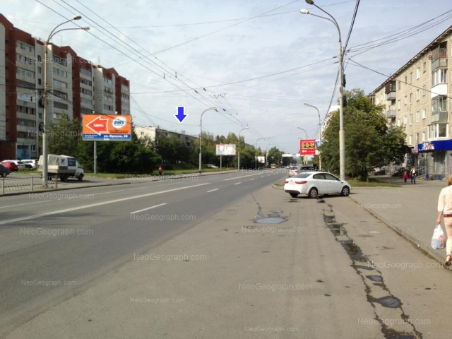 Адрес(а) на фотографии: улица Крауля, 48/1, 55, 57, Екатеринбург