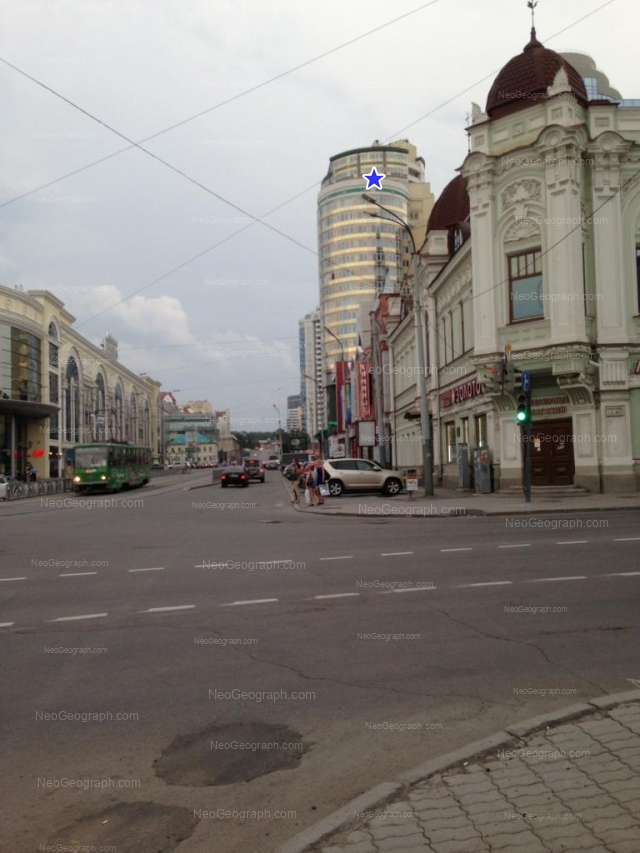 Адрес(а) на фотографии: улица Радищева, 2, 10, Екатеринбург