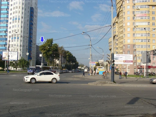 Адрес(а) на фотографии: улица Крауля, 44, 51, 53, Екатеринбург