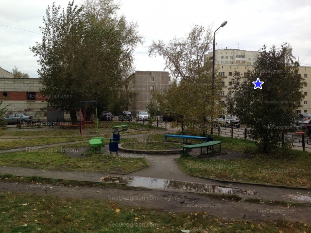Address(es) on photo: Metallurgov street, 30/1, 32, Yekaterinburg