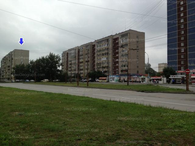 Адрес(а) на фотографии: улица Фрезеровщиков, 78, 80, Екатеринбург