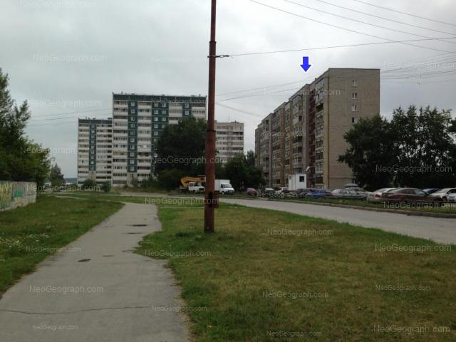 Адрес(а) на фотографии: улица Фрезеровщиков, 80, 82, 86, Екатеринбург