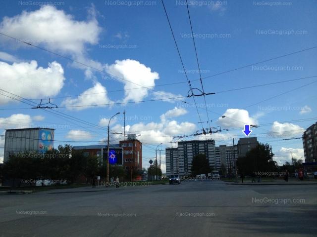 Адрес(а) на фотографии: улица Фрезеровщиков, 78, 80, 82, 84, 86, Екатеринбург