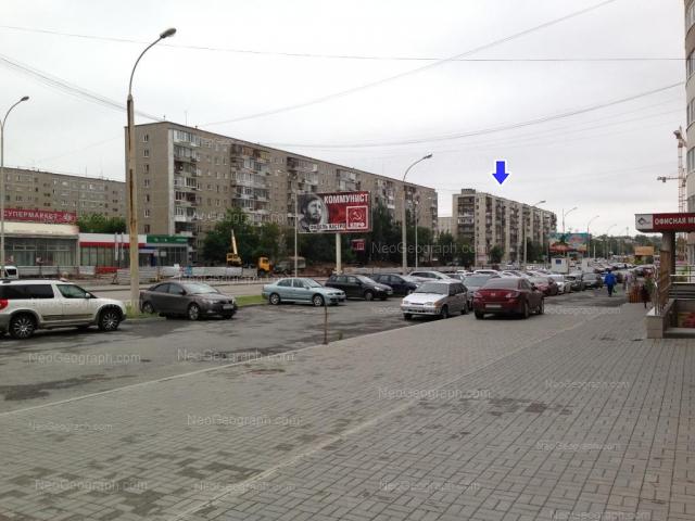 Адрес(а) на фотографии: улица Бакинских Комиссаров, 58, 64, 66, Екатеринбург