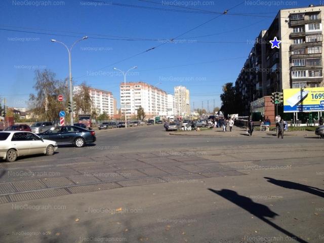 Адрес(а) на фотографии: улица Бакинских Комиссаров, 58, 107, Екатеринбург