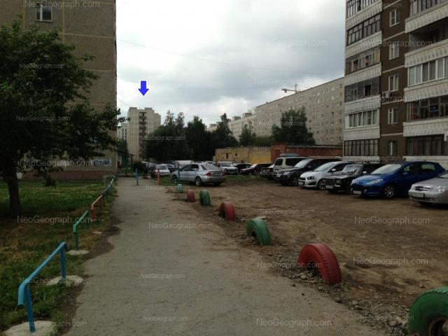 Адрес(а) на фотографии: улица Бакинских Комиссаров, 58, 60, 62, 64, Екатеринбург