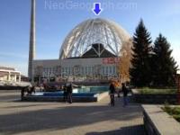 На фото - вид на Цирк Екатеринбурга. Адрес: улица 8 Марта, 43, Екатеринбург, Россия - Неогеограф