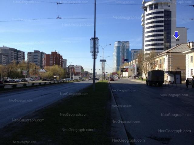 Address(es) on photo: Moskovskaya street, 52, 54, 56, 66, 125А, Yekaterinburg