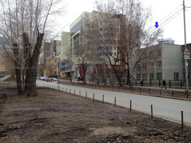 Address(es) on photo: Narodnoy voli street, 19, 19А, 21, Yekaterinburg