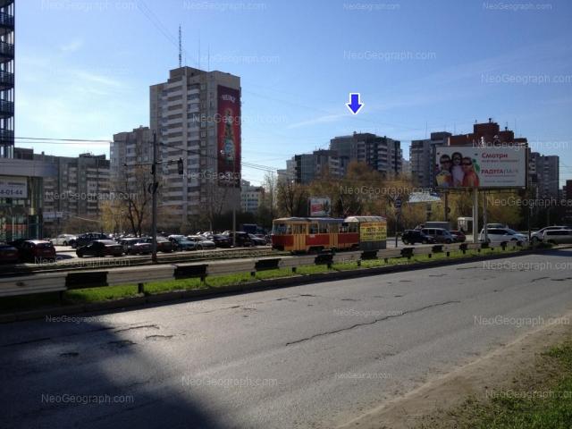 Адрес(а) на фотографии: улица Шейнкмана, 100, 102, 104, Екатеринбург