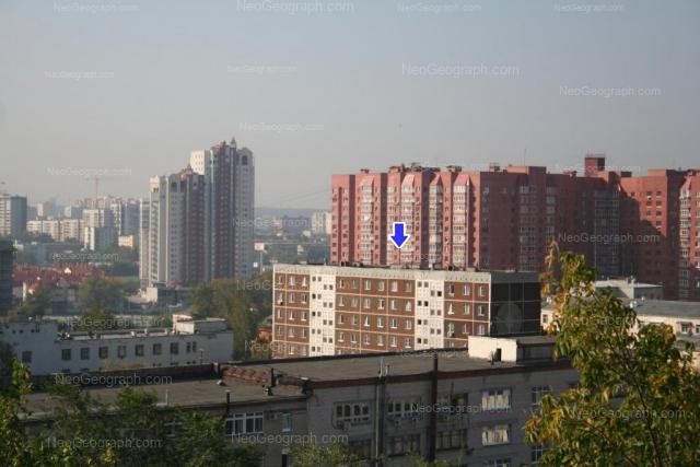 Адрес(а) на фотографии: улица Декабристов, 14, 15/1, 25, Екатеринбург