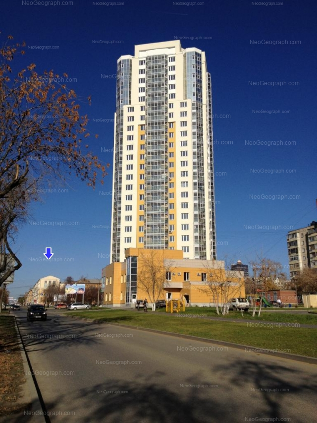 Адрес(а) на фотографии: улица Луначарского, 217, 221, Екатеринбург