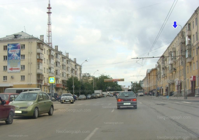 Адрес(а) на фотографии: улица Луначарского, 215, 217, 218, Екатеринбург