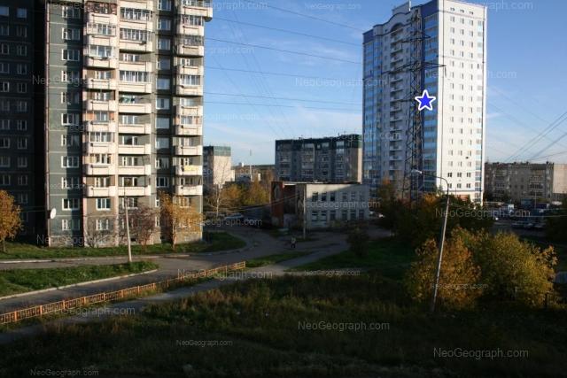 Адрес(а) на фотографии: бульвар Есенина, 7, 7А, 10, 12, Екатеринбург