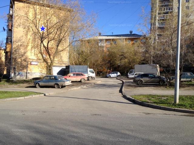 Адрес(а) на фотографии: улица Пальмиро Тольятти, 12А, 14, 16, Екатеринбург