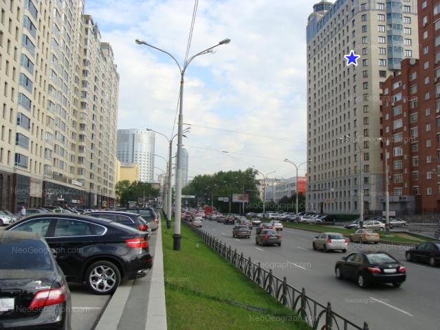 Address(es) on photo: Belinskogo street, 83, 86, Yekaterinburg