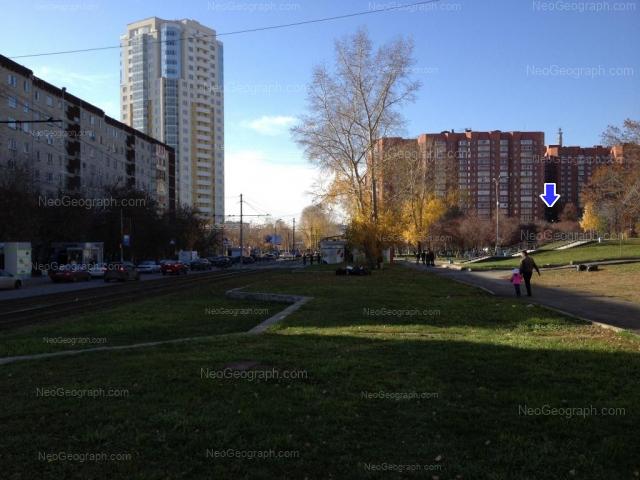 Address(es) on photo: Tveritina street, 19, 34, 34 с5, Yekaterinburg