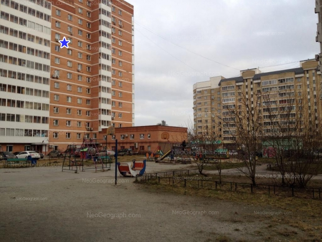 Address(es) on photo: Repina street, 80, 99, Yekaterinburg