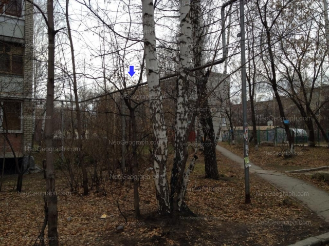 Address(es) on photo: Serafimi Deriyabinoy street, 11, 15/2, Yekaterinburg