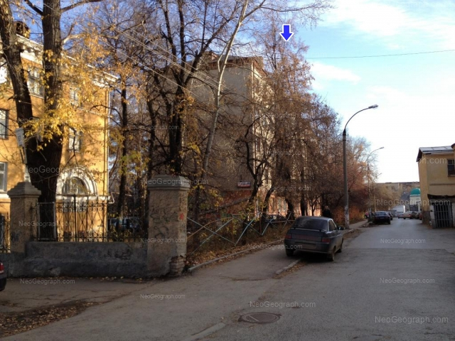 Адрес(а) на фотографии: улица Декабристов, 83А, 85, Екатеринбург