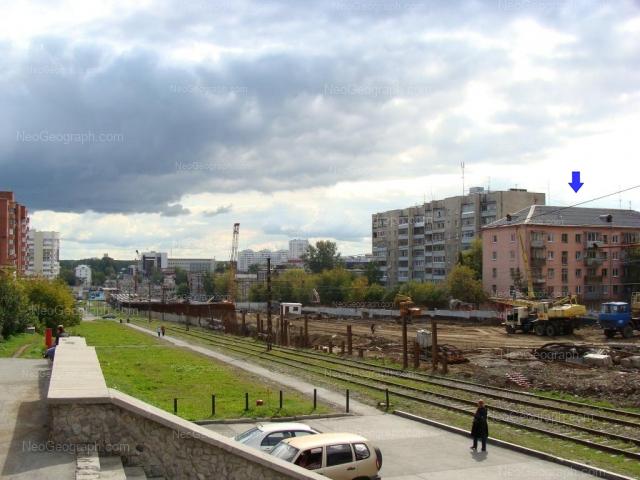 Адрес(а) на фотографии: Московская улица, 76, 78, Екатеринбург