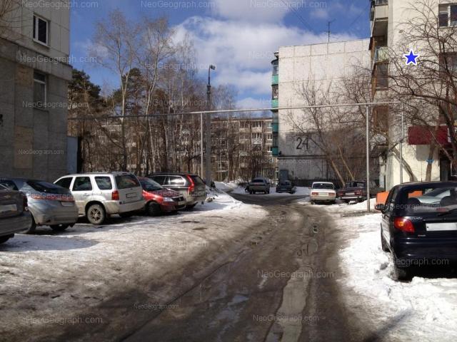 Адрес(а) на фотографии: Белореченская улица, 22, 24 к1, 24 к2, 26, Екатеринбург