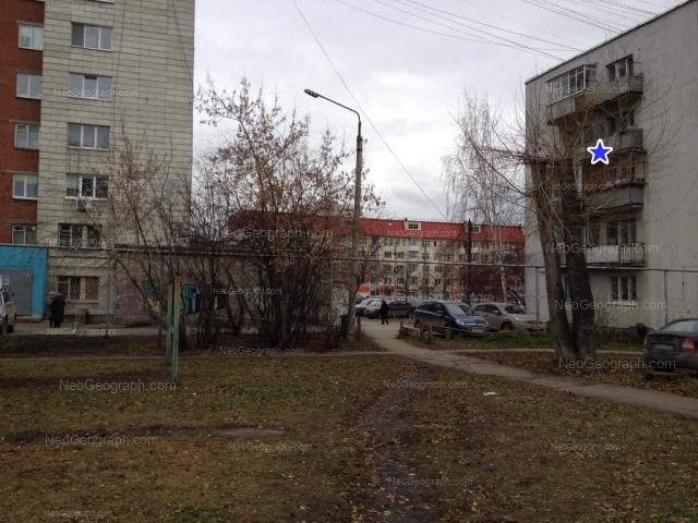Адрес(а) на фотографии: Белореченская улица, 13/1, 18А, 22, Екатеринбург